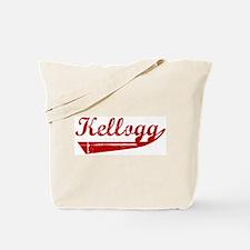 Kellogg (red vintage) Tote Bag