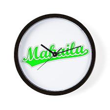 Retro Makaila (Green) Wall Clock