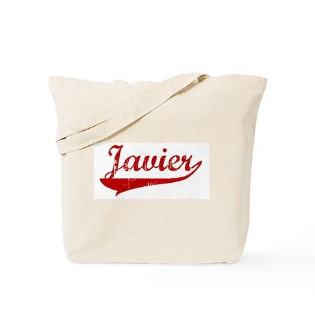 Javier (red vintage) Tote Bag