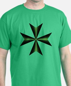 Green Maltese Cross T-Shirt