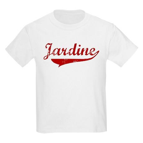 Jardine (red vintage) Kids Light T-Shirt