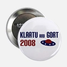 "Klaatu and Gort 2008 2.25"" Button (10 pack)"