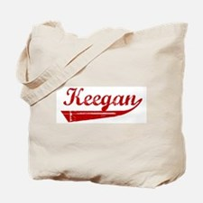 Keegan (red vintage) Tote Bag