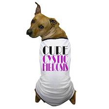 Cure Cystic Fibrosis Dog T-Shirt