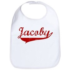 Jacoby (red vintage) Bib