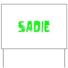 Sadie Faded (Green) Yard Sign