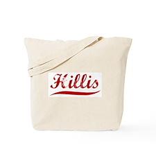Hillis (red vintage) Tote Bag