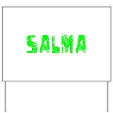 Salma Faded (Green) Yard Sign