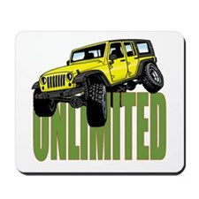 Jeep Wrangler Unlimited Mousepad