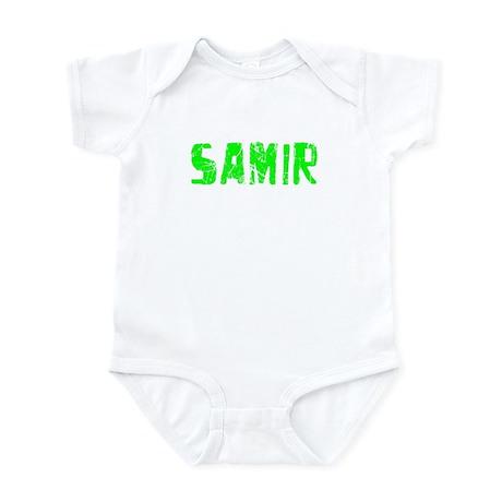 Samir Faded (Green) Infant Bodysuit