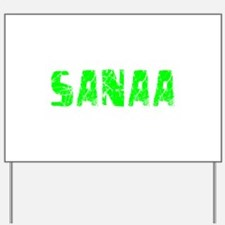 Sanaa Faded (Green) Yard Sign
