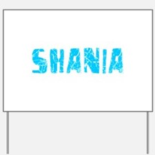 Shania Faded (Blue) Yard Sign