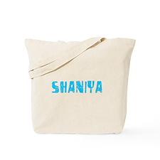 Shaniya Faded (Blue) Tote Bag