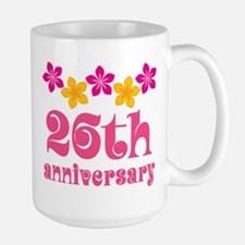 26th Anniversary Tropical Gift Mugs
