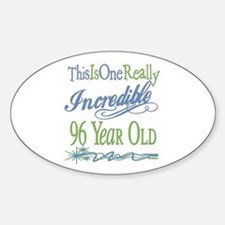 Incredible 96th Oval Decal