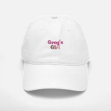Greg's Girl Baseball Baseball Cap