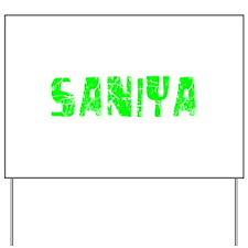 Saniya Faded (Green) Yard Sign
