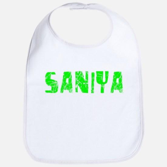 Saniya Faded (Green) Bib