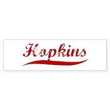 Hopkins (red vintage) Bumper Bumper Sticker