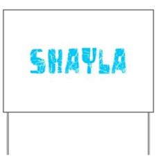 Shayla Faded (Blue) Yard Sign
