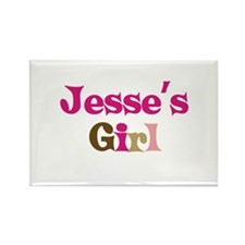 Jesse's Girl Rectangle Magnet (10 pack)