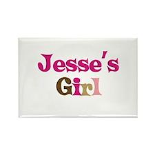 Jesse's Girl Rectangle Magnet