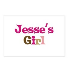 Jesse's Girl Postcards (Package of 8)