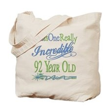 Incredible 92nd Tote Bag