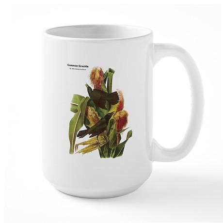 Audubon Common Grackle Birds Large Mug