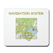 Navigation System Mousepad