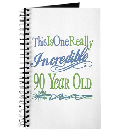 Incredible 90th Journal