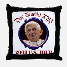 Pope Benedict XVI 2008 U.S. Tour Throw Pillow