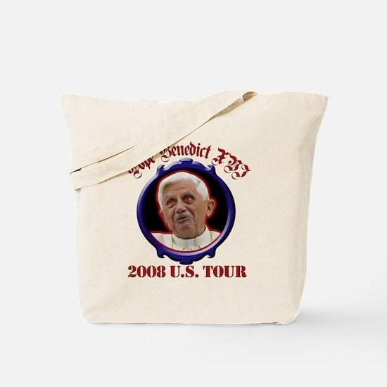 Pope Benedict XVI 2008 U.S. Tour Tote Bag