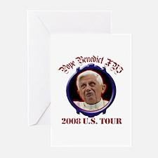 Pope Benedict XVI 2008 U.S. Tour Greeting Cards (P