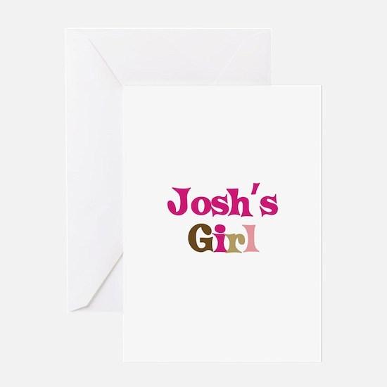 Josh's Girl Greeting Card