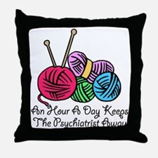 An Hour A Day... (2) Throw Pillow