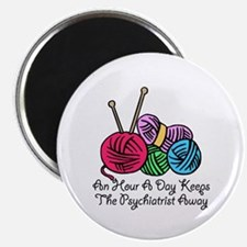 """An Hour A Day... (2) 2.25"""" Magnet (10 pack)"""