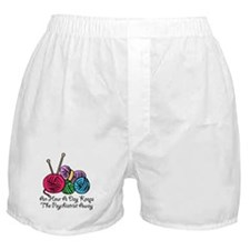 An Hour A Day... (2) Boxer Shorts