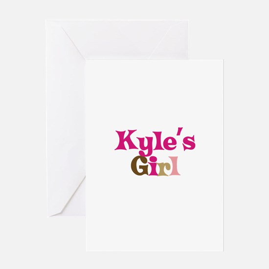 Kyle's Girl Greeting Card
