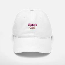 Nate's Girl Baseball Baseball Cap