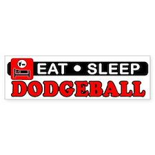 Dodgeball Bumper Sticker