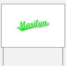 Retro Marilyn (Green) Yard Sign