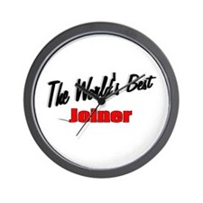 """""""The World's Best Joiner"""" Wall Clock"""