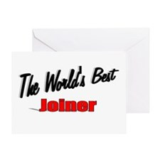 """The World's Best Joiner"" Greeting Card"