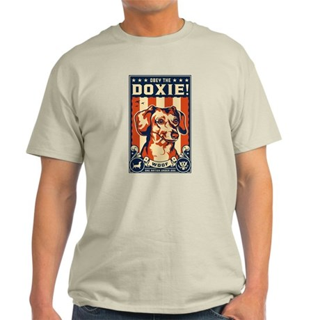 Obey the Doxie! USA light T-Shirt