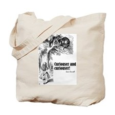 "Carroll ""Curiouser"" Tote Bag"