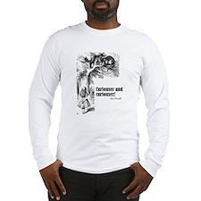 """Carroll """"Curiouser"""" Long Sleeve T-Shirt"""