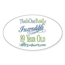 Incredible 89th Oval Decal