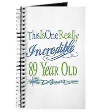 Incredible 89th Journal