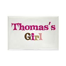 Thomas's Girl Rectangle Magnet